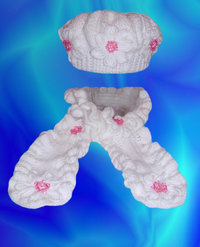 Вязание детских шарфиков 33